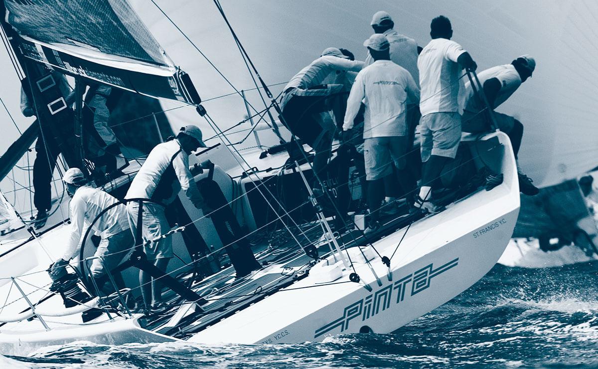 pinta abdichtung Segelboot auf See